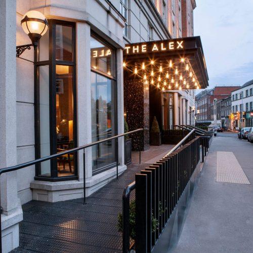 The Alex Hotel Exterior