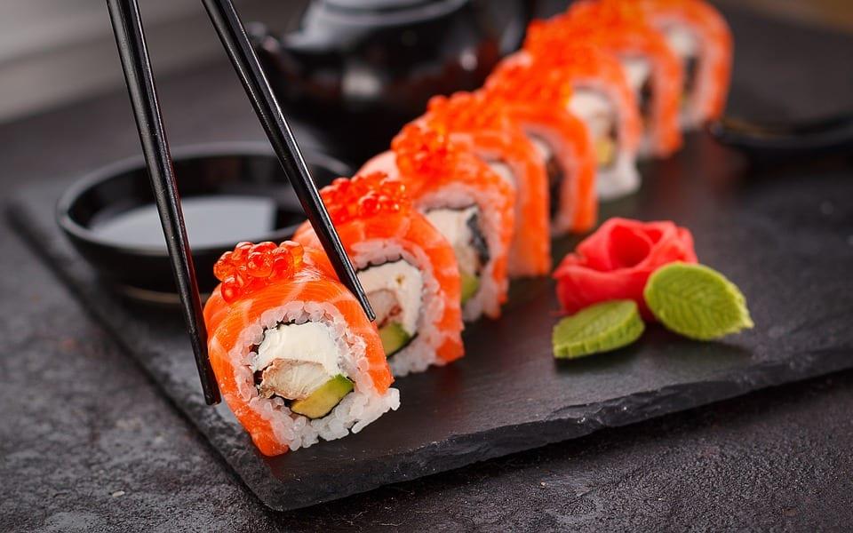 A Sushi Dish