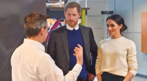 Prince Harry and Meghan visit Catalyst