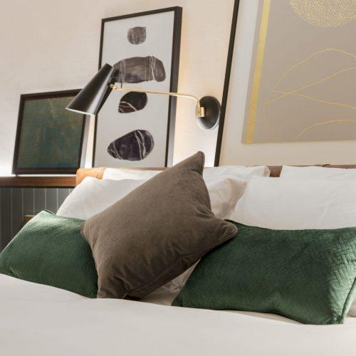The Alex Hotel Dublin Bedroom