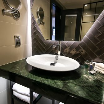 Executive Bathroom at The Alex Hotel Dublin 2