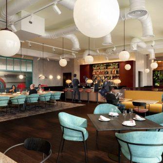 The Mont Hotel Dublin - Restaurant Seating