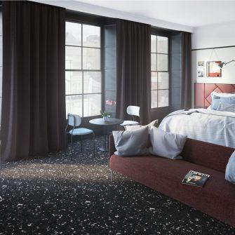 The Mont Hotel Dublin - Suite Bedroom
