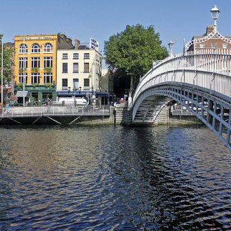 The Ha'Penney Bridge Dublin City Centre