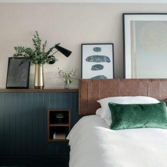 The Alex Hotel Bedroom