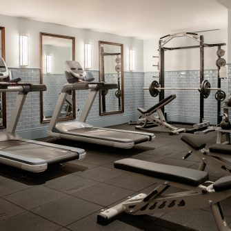 The Green Hotel Dublin Gym