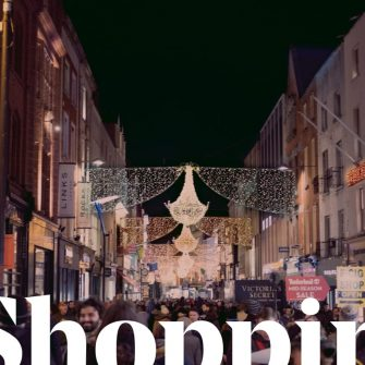 Shopping at Grafton Street, Dublin 2