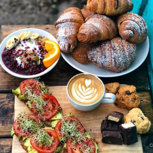 A selection of delicious vegan breakfast options