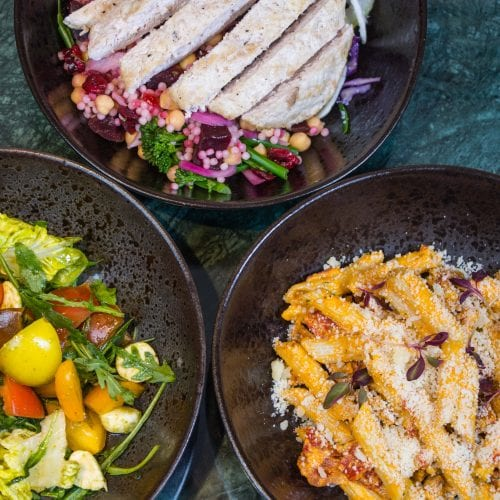 Three delicious dinner options at The Alex Hotel