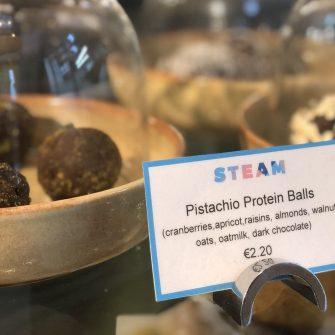 Pistachio Protein Balls at The Alex Hotel